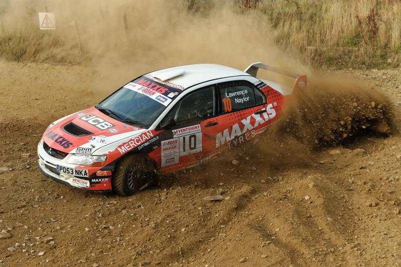 Success for Maxxis-supported Naylor at BTRDA Trackrod Rally