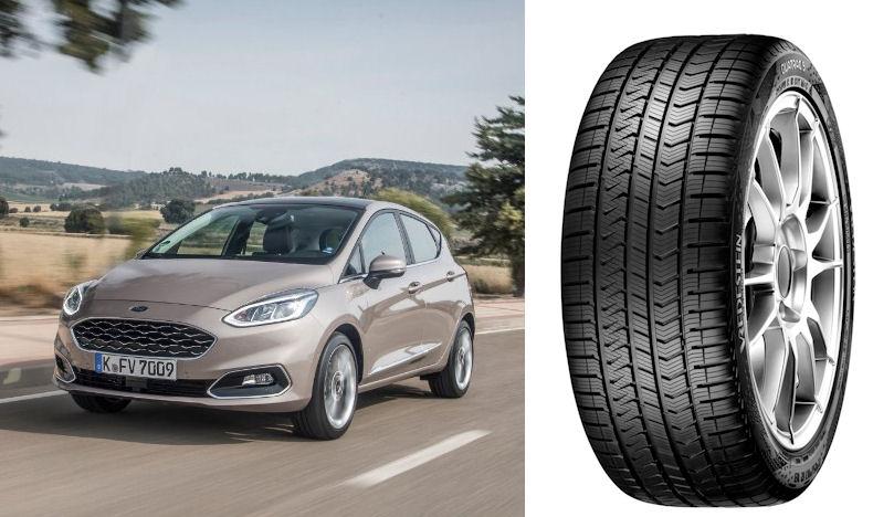 Vredestein Quatrac 5 chosen for latest Ford Fiesta
