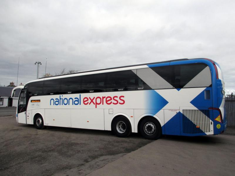 Bruce's Coaches get 'up to 130,000km' more from Michelin National Express routes