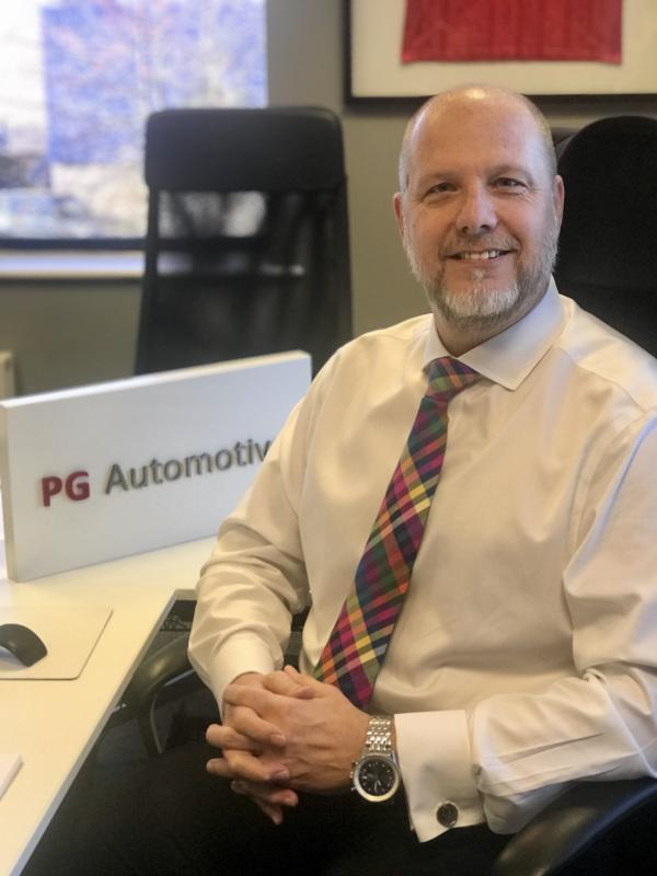 Andy Lees appoint PG Automotive MD