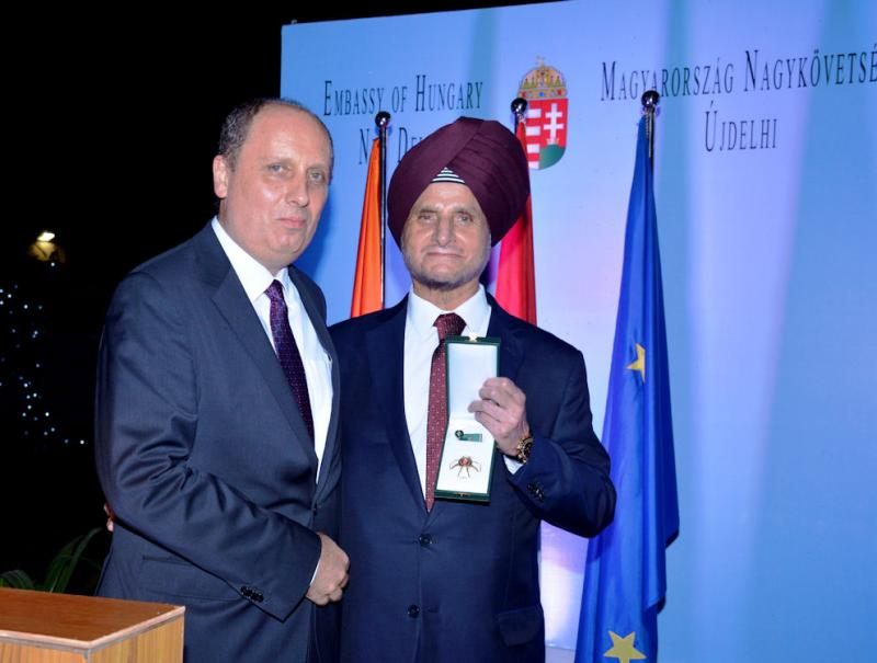 Apollo's Onkar Kanwar receives Hungary's 'Order of Merit'