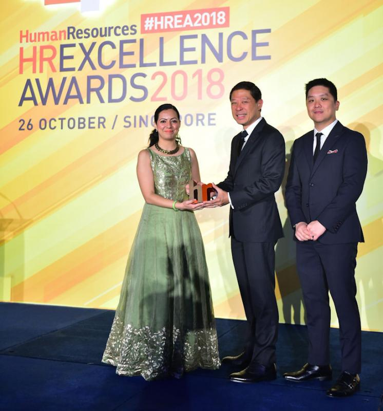Bridgestone Asia Pacific gains HR Excellence Award
