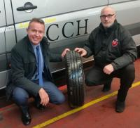 Tomato Tyres take Yokohama to Comet Car Hire