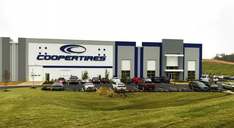 Cooper Tire opens 'central' US warehouse