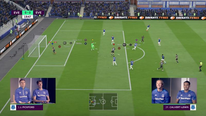 Davanti Tyres' Everton partnership features in FIFA 19