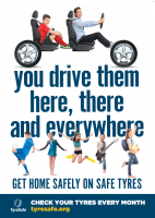 TyreSafe launches campaign to help teenagers get Home Safely on Safe Tyres