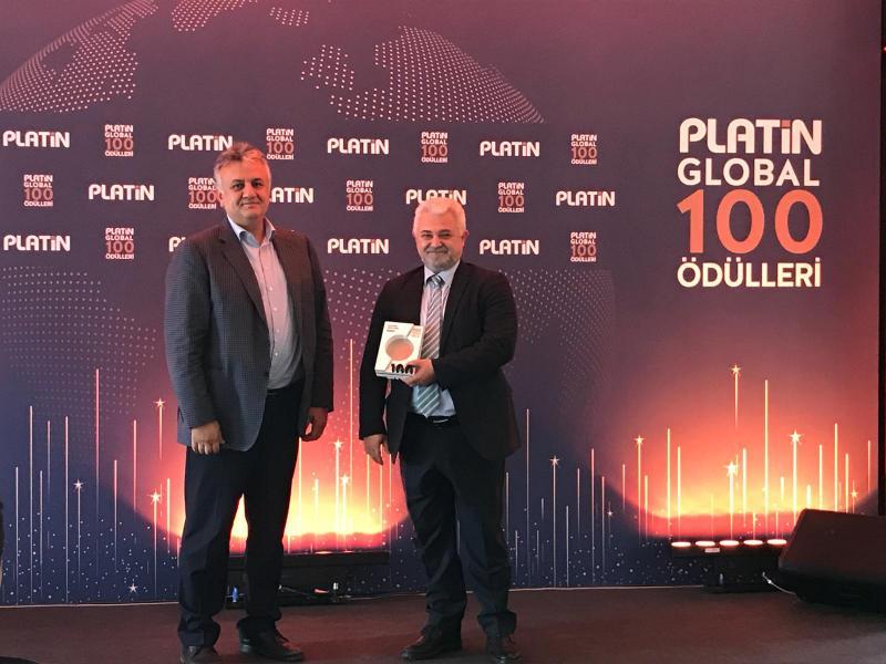 Kordsa wins Platin Global 100 award