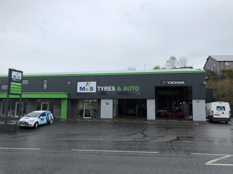 Kerr's Tyres buys M & S Tyres Enniskillen