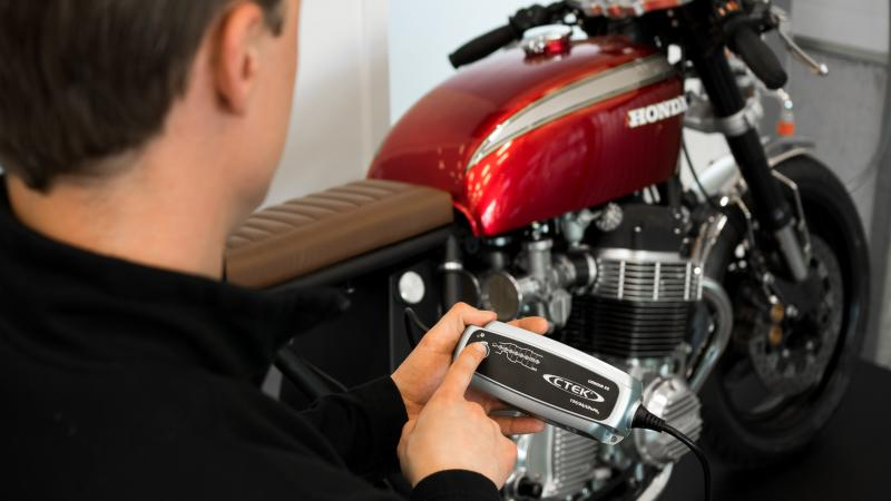 Bickers' top tips to prepare your motorcycle for winter hibernation