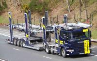 Carlson Vehicle Transfer introduces Michelin Effitrailer across car transporter fleet