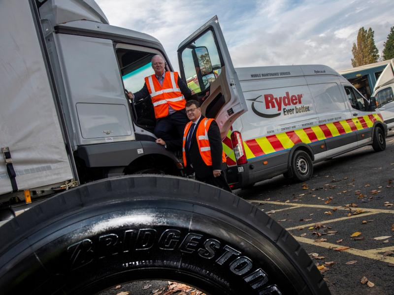 Ryder and Bridgestone renew fleet service partnership