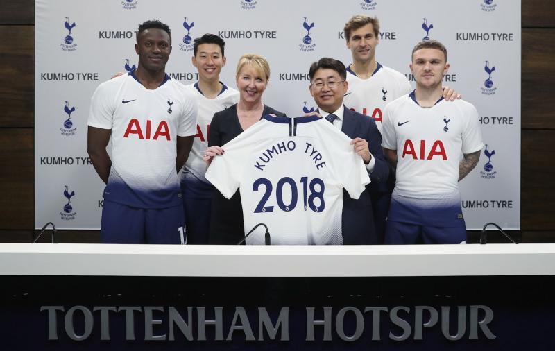 Kumho Tire extends Tottenham Hotspur sponsorship