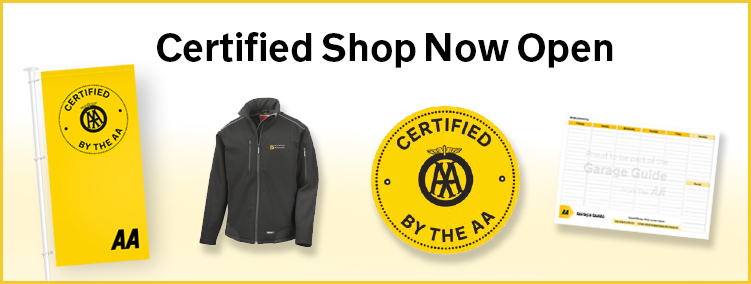 AA certified shop goes live