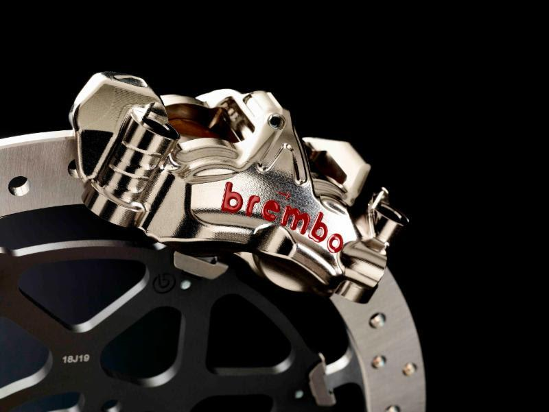 Brembo unveils MotoE brake solution