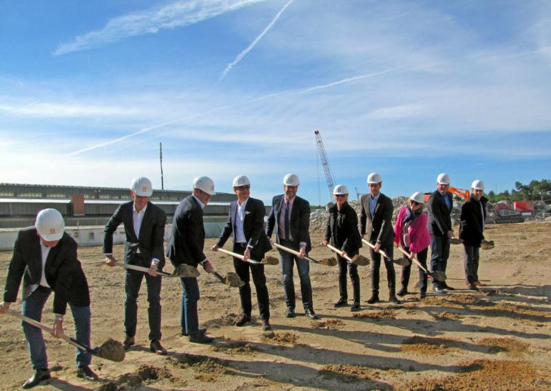 Construction begins on Ronal innovation centre