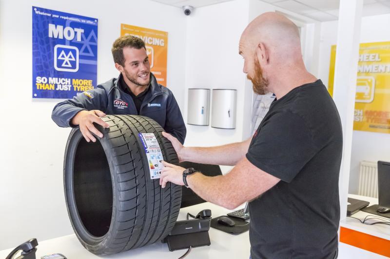 Michelin rejuvenates retail programme