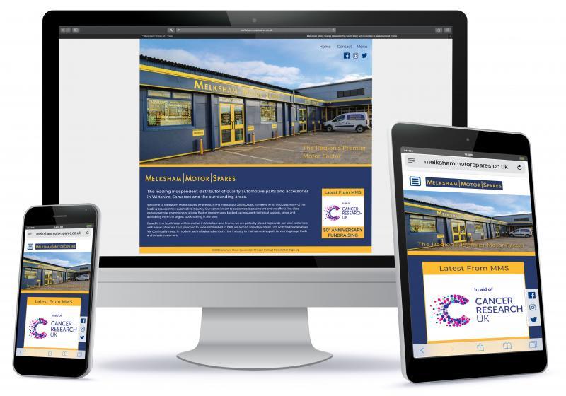 Melksham Motor Spares invests in enhanced website