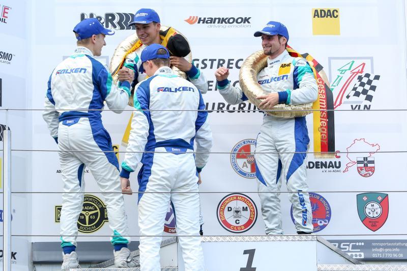 Falken celebrates 'most successful' VLN season