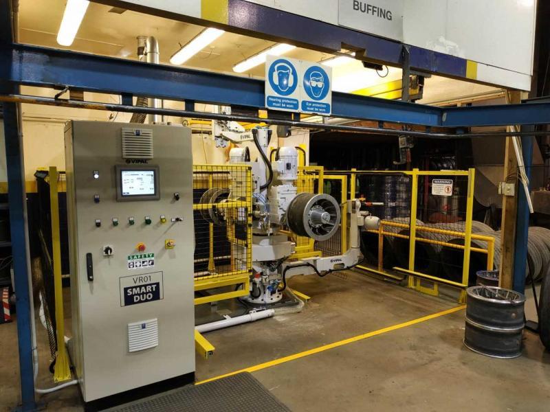 Vipal installs first buffing machine outside Latin America