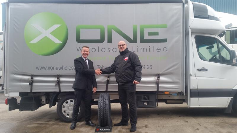 X One Wholesale fleet to run on Yokohama winter van tyre