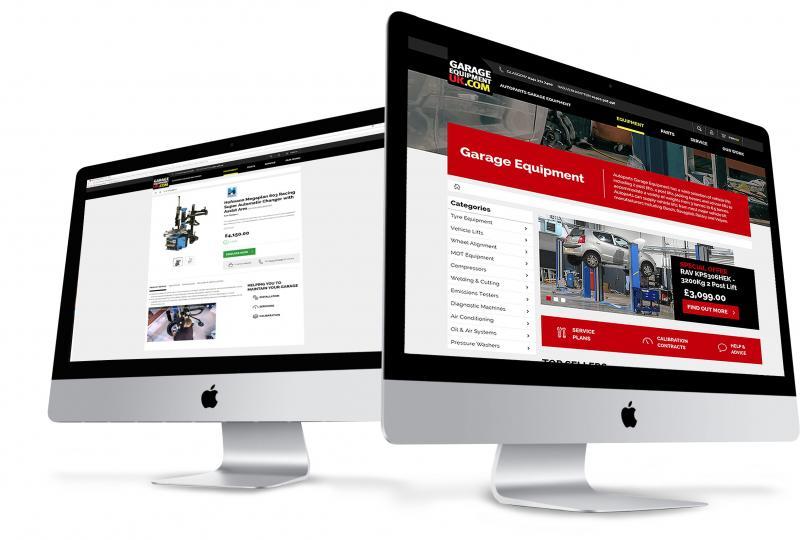 Autoparts Garage Equipment new website grows