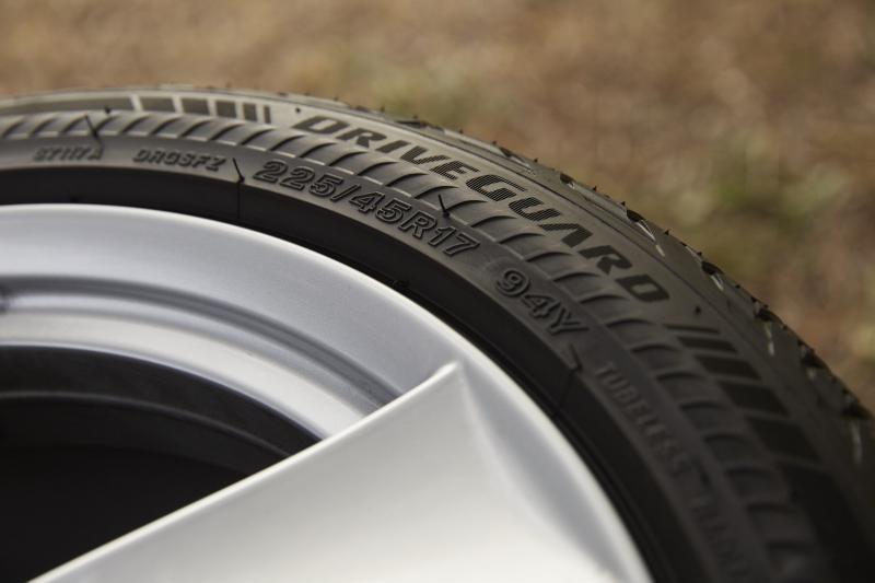 Bridgestone DriveGuard run-flat technology available on main product lines