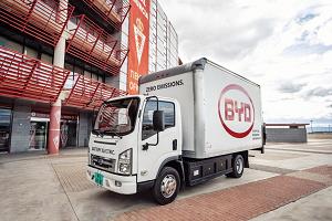 BYD debuts electric trucks and plug-in van