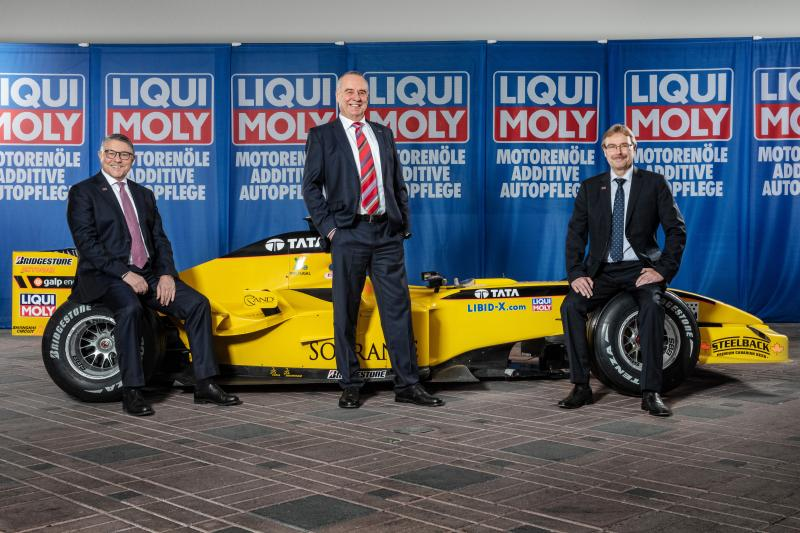 Liqui Moly enters Formula 1 advertising deal