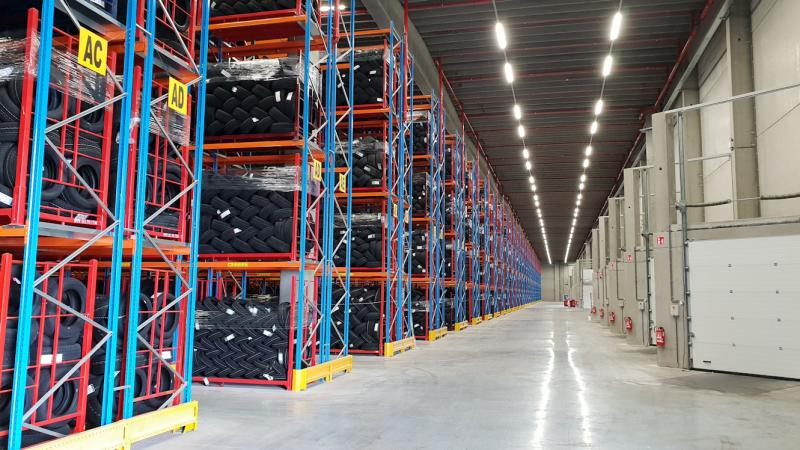 Deldo doubles warehouse capacity