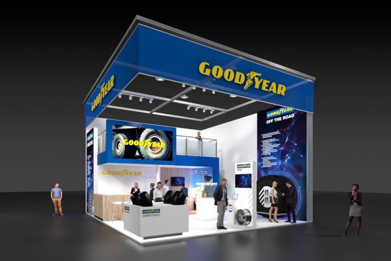 Goodyear to debut Omnitrac mixed service OTR tyres at Bauma