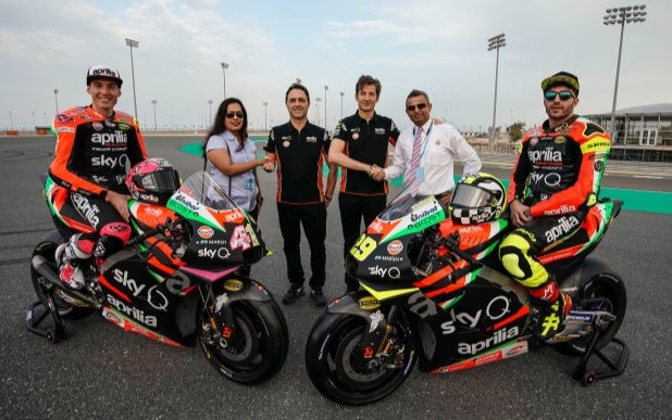 Aprilia Racing and Gulf aim for the top in MotoGP