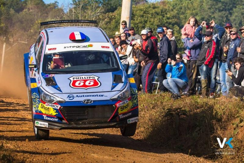 Dmack marks eight years in FIA South American rally championship