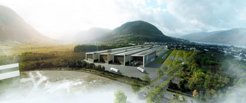 Engineers working on £120 million Fort William alloy wheel factory