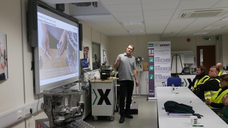Repxpert members praise Schaeffler LuK double clutch system training course