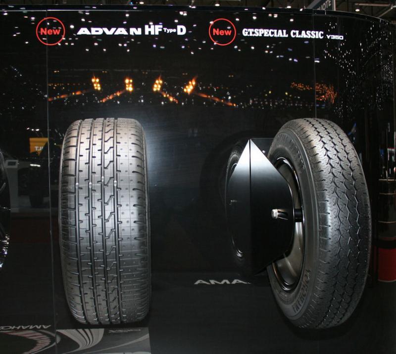 Yokohama introducing classic tyre line