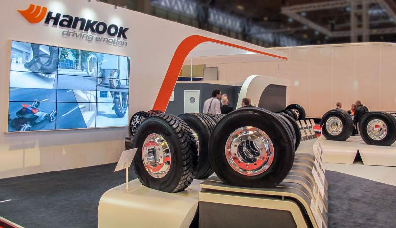 CV Show: Hankook showing expanded range, concept tyres