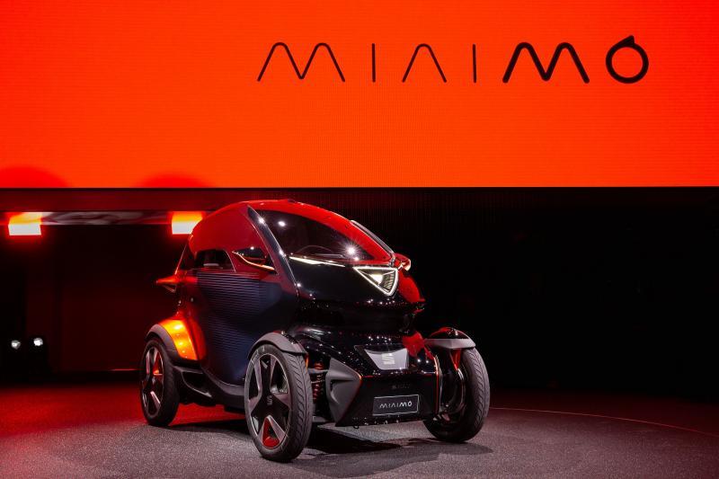 Bridgestone supply ologic technology tyres to Seat Minimó electric concept car