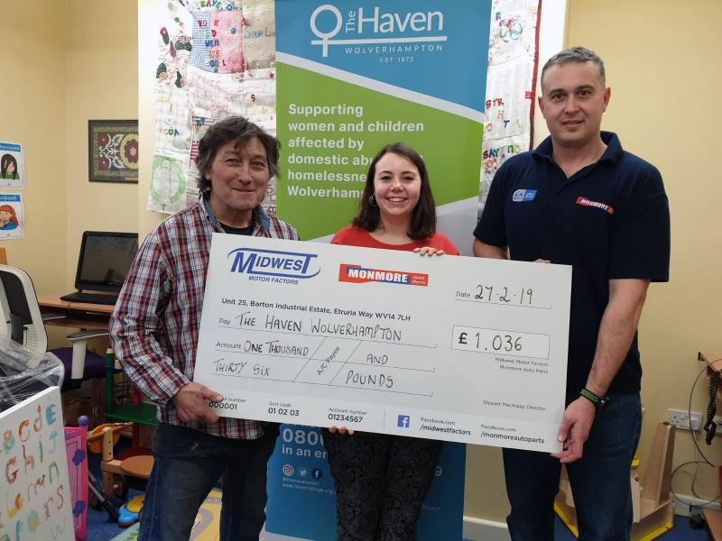 Charity benefits from local automotive business raffle