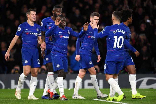 Yokohama supporting Chelsea FC pre-season match