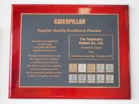 Another Caterpillar platinum award for Yokohama
