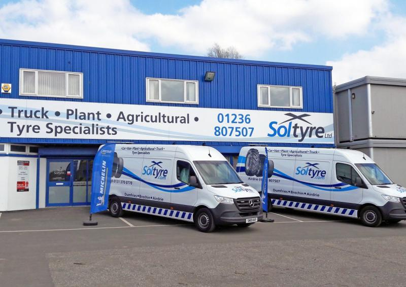 Michelin Exelagri dealer hat-trick for Soltyre
