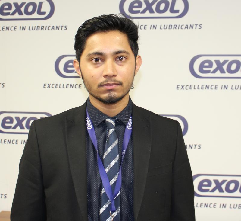 Exol welcomes new Aston University student