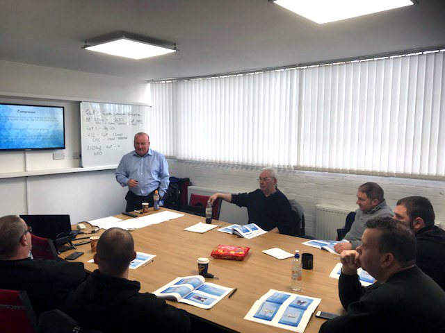 TerraClean technicians take part in hybrid, electric vehicle training