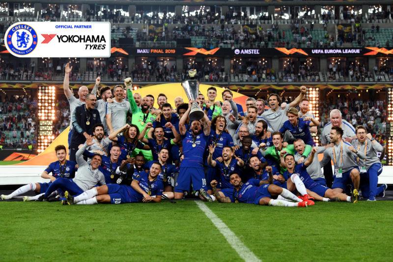 Yokohama celebrates brand boost as Chelsea wins Europa League