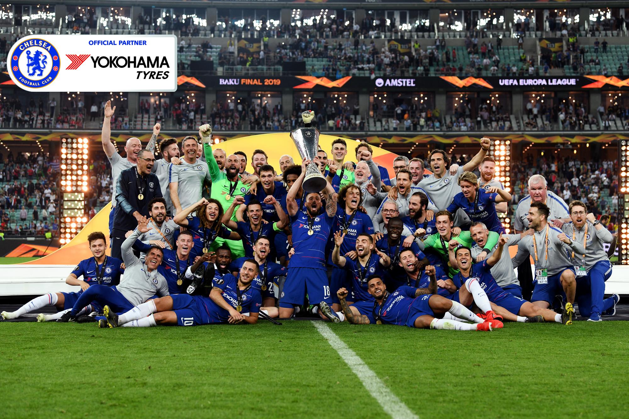 yokohama celebrates brand boost as chelsea wins europa league tyrepress https www tyrepress com 2019 05 yokohama celebrates brand boost as chelsea wins europa league