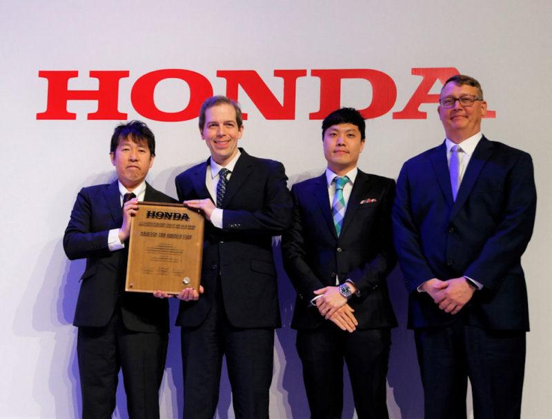 Hankook Tire a Honda double award winner