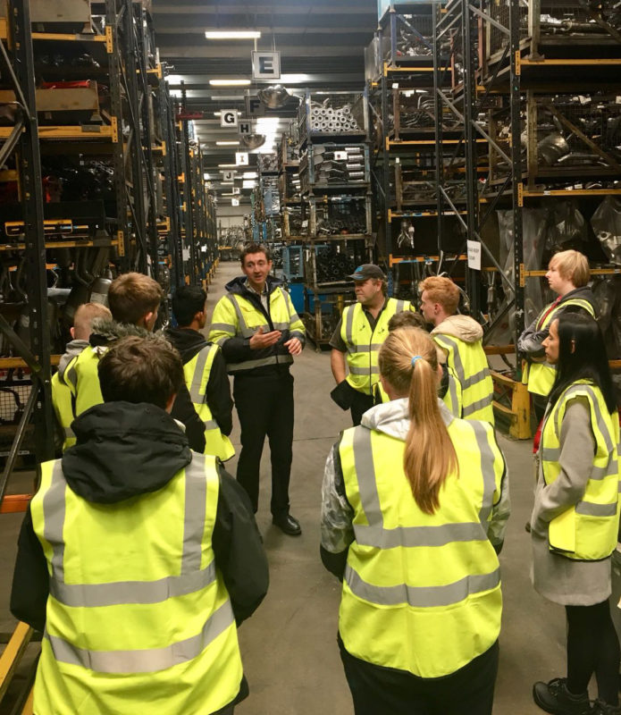 Klarius and PM Training encourage future engineers with factory tour for teenagers
