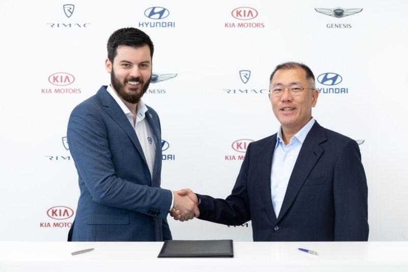 Hyundai, Kia invest 80M euros in Rimac, establish technology partnership