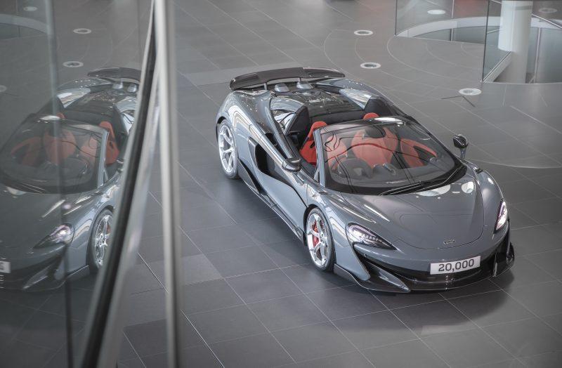 McLaren makes 20,000th car
