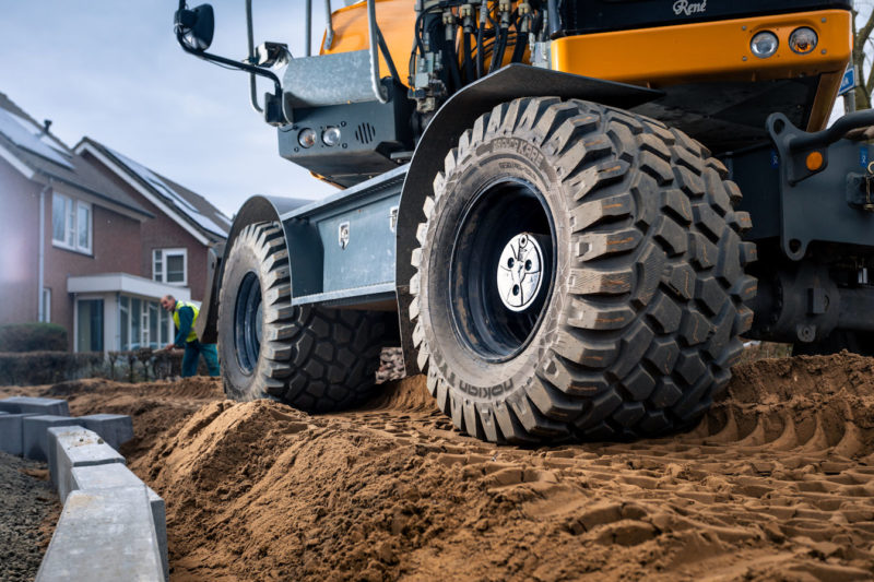 "Nokian Ground Kare – a ""good compromise"" for excavator applications"